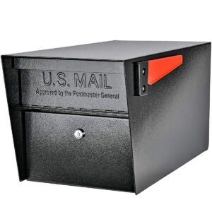 Best Locking Mailbox Options: Mail Boss 7536 Street Safe Latitude Security Locking Mailbox
