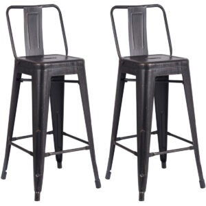 Best Bar Stools Options: AC Pacific Modern Light Weight Industrial Metal