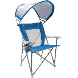 最佳沙滩椅选择:GCI户外水边遮阳折叠船长沙滩椅