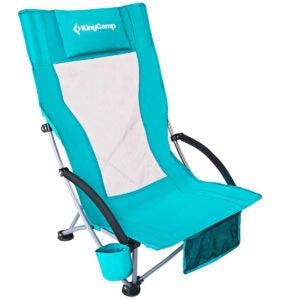 最佳沙滩椅选择:KingCamp低吊带沙滩椅