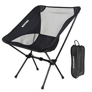 Best Beach Chairs Options: MARCHWAY Ultralight Folding Camping Chair