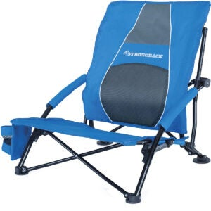 最佳海滩椅选择:Strongback低重力海滩椅