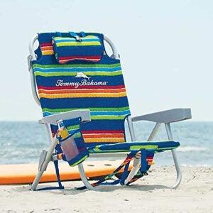 最佳沙滩椅选择:Tommy Bahama,条纹