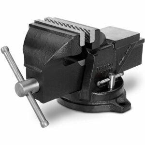 The Best Bench Vise Option: TEKTON 4-Inch Swivel Bench Vise 54004