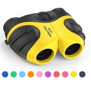 最佳双筒望远镜选择:Celestron -我们走吧!双目对孩子