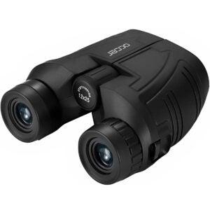 最佳双筒望远镜选项:LONEL 12x25紧凑型双筒望远镜,低光夜视