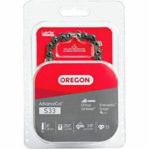 The Best Chainsaw Chain Option: Oregon S33 AdvanceCut 8-Inch Chainsaw Chain