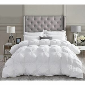 The Best Comforter Option: Luxurious All-Season Goose Down Comforter Duvet Insert