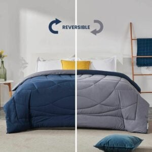 The Best Comforter Option: SLEEP ZONE All Season Comforter Down Alternative
