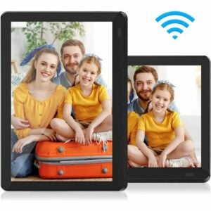 The Best Digital Picture Frame Option: Atatat WiFi Digital Picture Frame 10 Inch