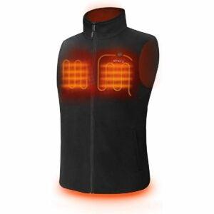 The Best Heated Vest Option: ORORO Men's Fleece Heated Vest