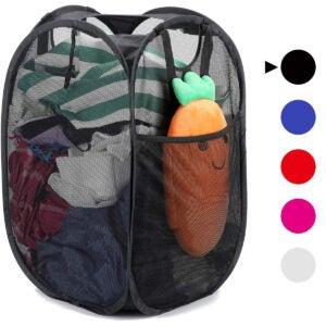 Best Laundry Basket Options: [Reinforced] Strong Mesh Pop-up Laundry Hamper