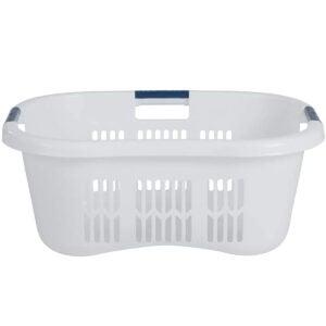 Best Laundry Basket Options: Rubbermaid FG299587WHTRB Laundry Basket