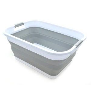 Best Laundry Basket Options: SAMMART Collapsible Plastic Laundry Basket