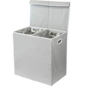 Best Laundry Basket Options: Simplehouseware Double Laundry Hamper