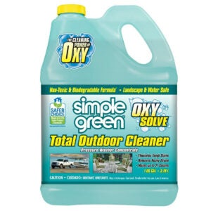 Best Mold Remover Options: Oxy Solve Total Outdoor Pressure Washer Cleaner