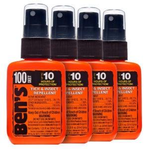 Best Mosquito Repellent Options: Ben's 100 Insect Repellent Pump 1.25oz