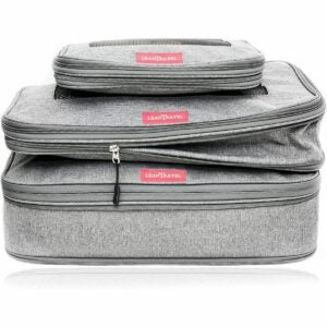 The Best Packing Cubes Option: LeanTravel Compression Packing Cubes