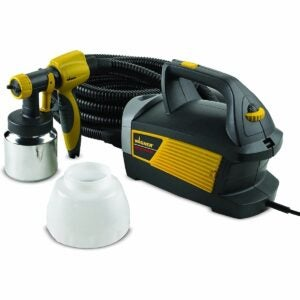 The Best Paint Sprayer For Cabinets Option: Wagner Spraytech 0518080 HVLP Paint Sprayer