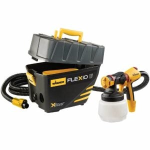 The Best Paint Sprayer For Cabinets Option: Wagner Spraytech 0529091 FLEXiO 5000 Paint Sprayer