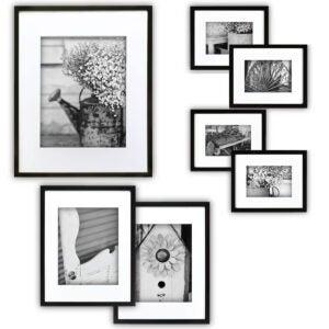 最佳的照片框架选项:画廊完美画廊墙套件照片