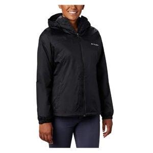 最好的雨夹克选项:哥伦比亚女式交换剪码头衬里夹克