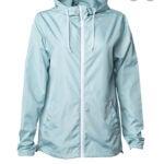 最好的雨夹克选项:Houst女装轻质连帽雨衣