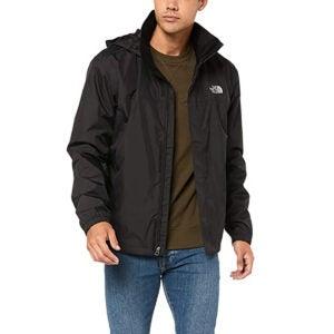 最好的雨夹克选择:北面男士解决防水夹克
