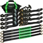 The Best Ratchet Straps Option: Rhino USA Heavy Duty Vehicle Tie Down Kit