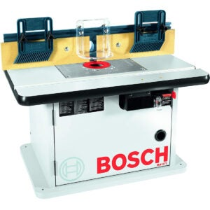 The Best Router Table Options: Bosch Cabinet Style Router Table RA1171