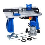 The Best Router Table Options: Kobalt 1 4-in and 1 2-in Fixed Corded Router with Table