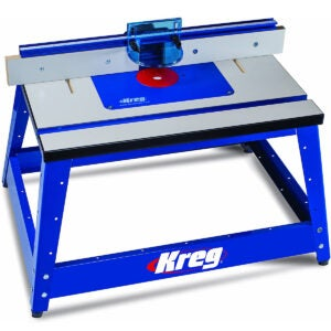 The Best Router Table Options: Kreg PRS2100 Bench Top Router Table