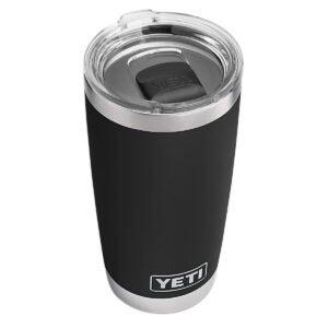 Best Travel Mug Options: YETI Rambler 20 oz Tumbler, Stainless Steel