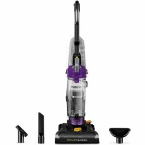 The Best Upholstery Cleaner Option: Eureka NEU182B PowerSpeed Bagless Upright Vacuum