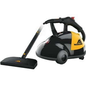 The Best Upholstery Cleaner Option: McCulloch MC1275 Heavy-Duty Steam Cleaner