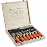 The Best Wood Chisels Option: VonHaus 10 pc Premium Chisel Set for Woodworking