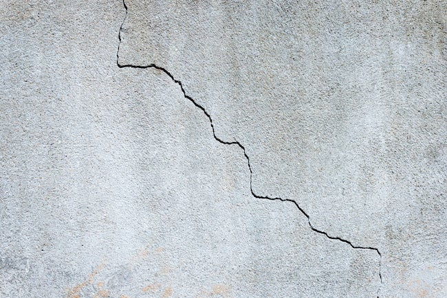 Cracks In Concrete Foundation
