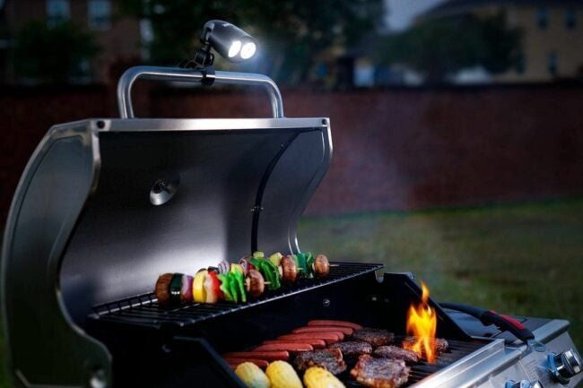 The Grill Lights Option