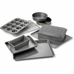 The Best Baking Pans Option: Calphalon Nonstick Bakeware Set