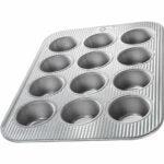 最好的烤盘选择:美国平底锅(1200MF)烤杯蛋糕和松饼锅