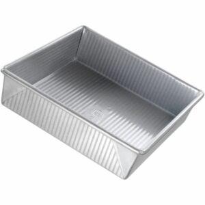 The Best Baking Pans Option: USA Pan Bakeware Square Cake Pan