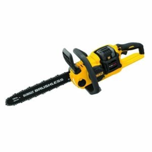 The Best Battery Chainsaws Option: DeWalt 16 in. 60V MAX Cordless Brushless Chainsaw