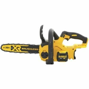The Best Battery Chainsaws Option: DeWalt 20V MAX XR Chainsaw, 12-Inch