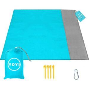最佳海滩毯子yoyi
