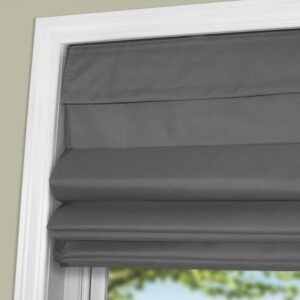 The Best Blackout Shades Option: Arlo Blinds Thermal Room Darkening Fabric Roman Shades