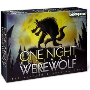 最佳桌面游戏选择:Bezier Games One Night Ultimate Werewolf