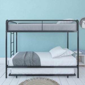 The Best Bunk Beds Option: DHP Triple Metal Bunk Bed