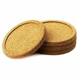 The Best Coasters Option: Natural Home Decor Cork Coaster