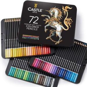 The Best Colored Pencils Options: Castle Art Supplies 72 Colored Pencils Set
