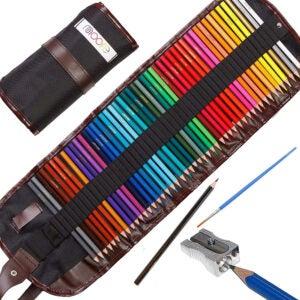 The Best Colored Pencils Options: Moore - Premium Art Color Pencils, 48 Pieces